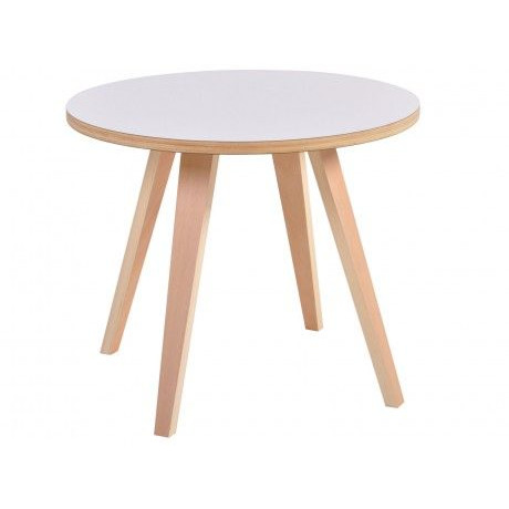 Side Table Arvika Round | White