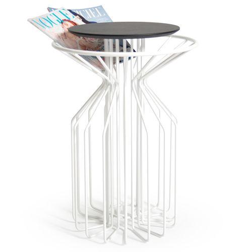 Amarant Side Table | White
