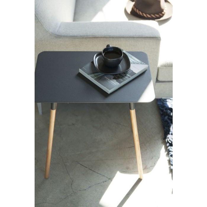 Side Table Square Plain | Black