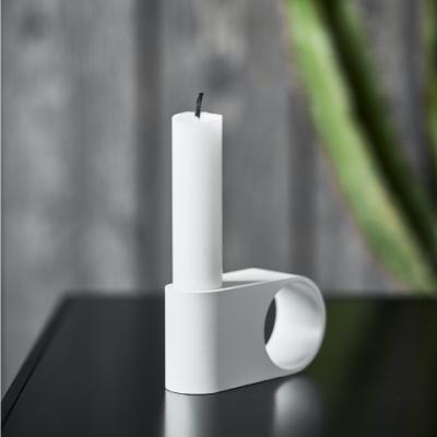 Munus Candle Holder | White