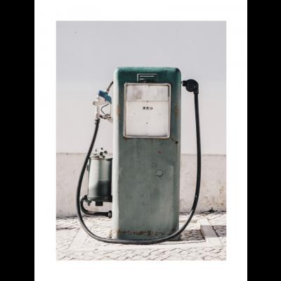 Poster | Vintage Gas