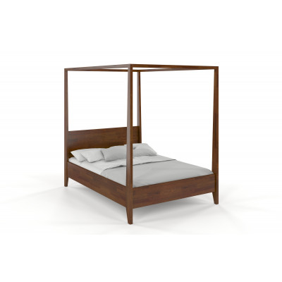 Wooden Bed Canopy | Nut Pine Wood