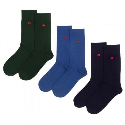 Men's Socks | Navy Set of 3