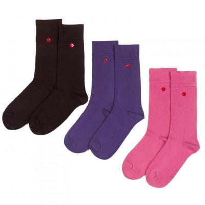 Men's Socks | Chocolate Set of 3