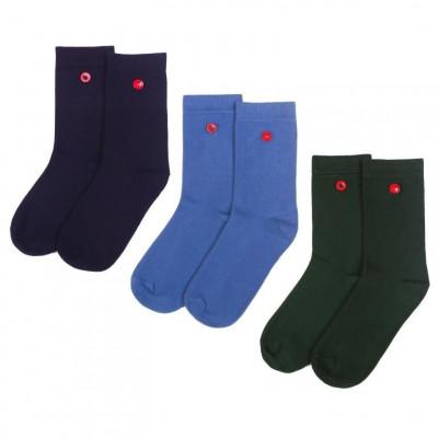 Women's Socks | Navy Set of 3