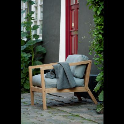 Outdoor-Sessel Virkelyst | Grau
