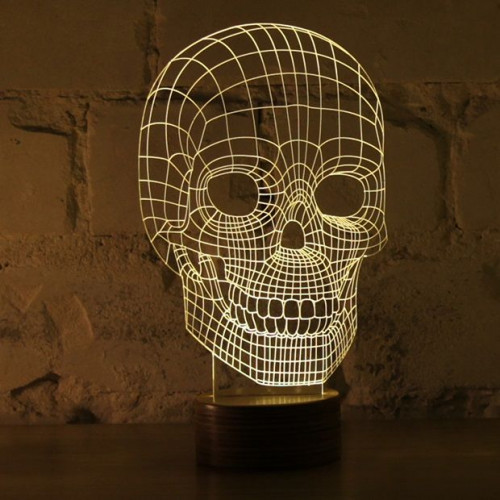 Bulbing Lamp #Skull