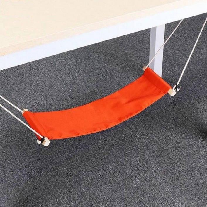 Unter Schreibtisch-Fuß-Hängematte | Kieferngrün