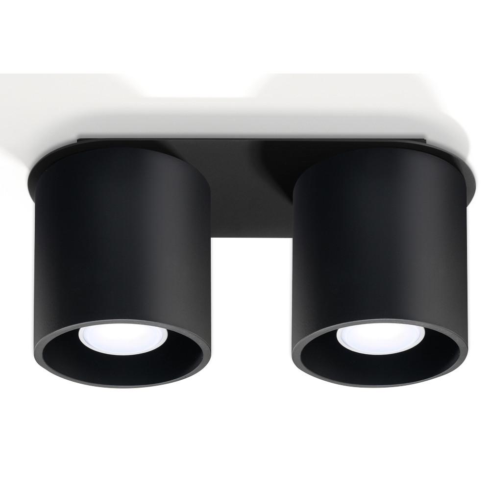 Deckenlampe Orbis 2 | Schwarz