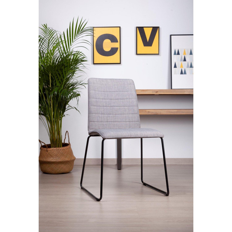 Chaise Vera | Gris clair