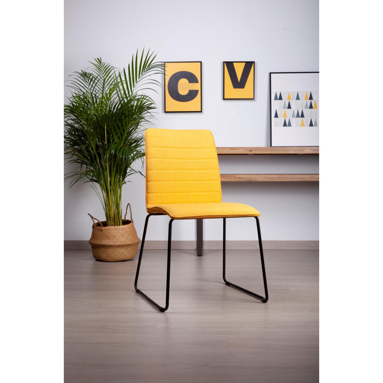 Chaise Vera | Moutarde