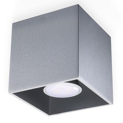 Deckenlampe Quad | Grau
