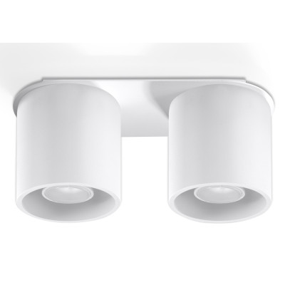 Deckenlampe Orbis 2 | Weiß