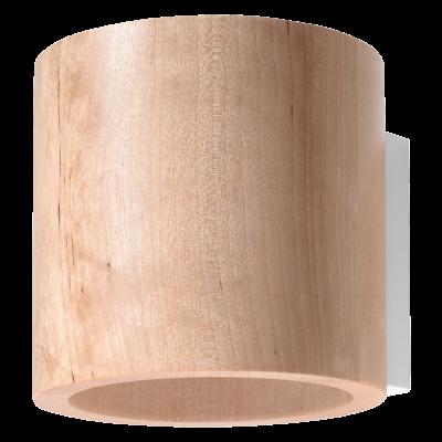 Wandleuchte Orbis | Holz