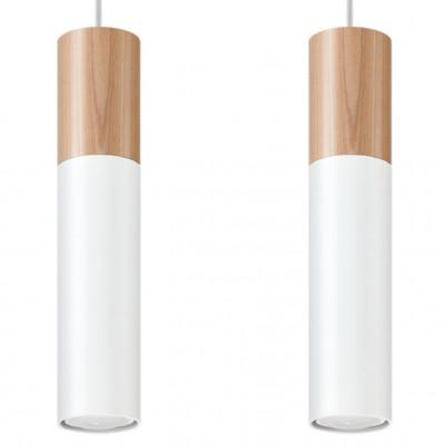 Pendelleuchte Pablo 2 Lichter | Weiß