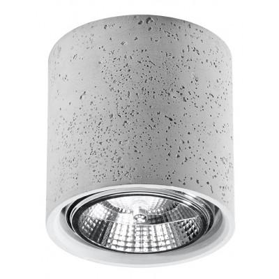 Deckenlampe Cullo | Beton