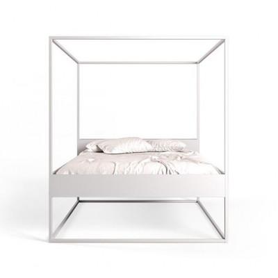 Bett Led | Weiß