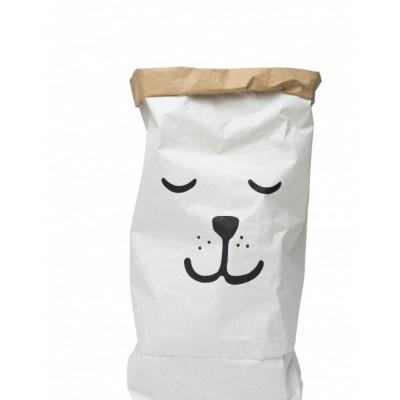 Papier-Aufbewahrungsbeutel | Schlafender Bär