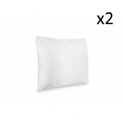 2er-Set Kopfkissen 100 % Memoryschaum ohne Belüftungsband