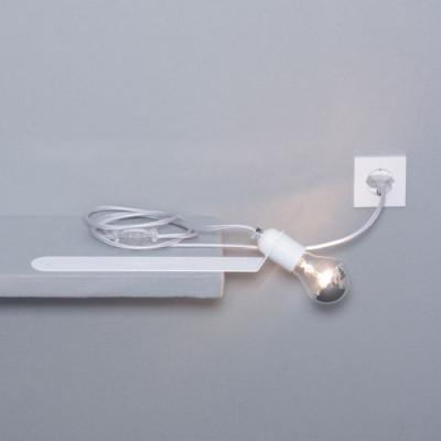 Schieberegal-Leuchte | Weiß