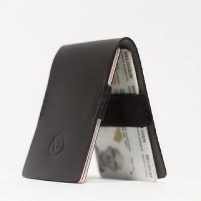 Schlanke Brieftasche   Schwarz