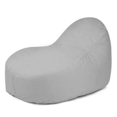 Outdoor Sitzsack-Liege Slope XL Plus | Cool Grau