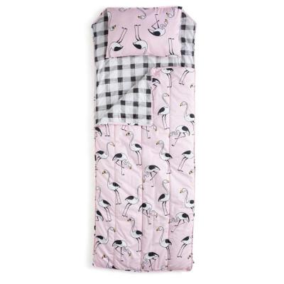 Sleeping Bag | Flamingo Pink