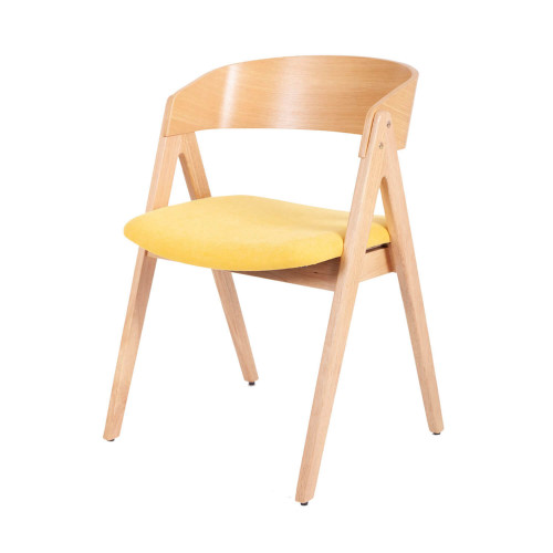 Chaise Rina   Moutarde