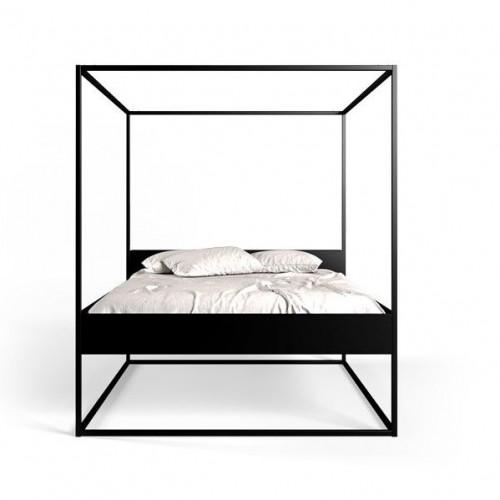 Bett Led | Schwarz-170