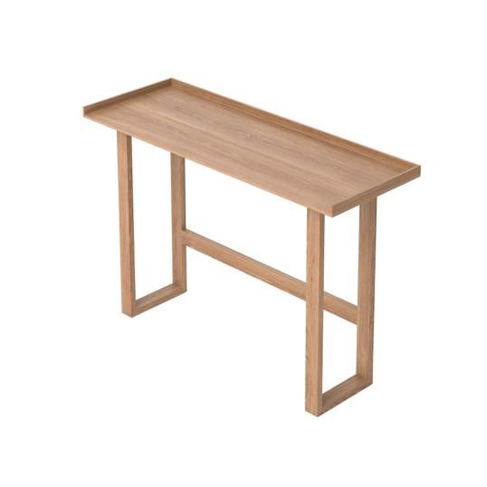 Laptop und Schreibtisch Slim   Helles Holz