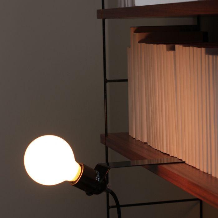 Sliding Shelf Lamp | Black