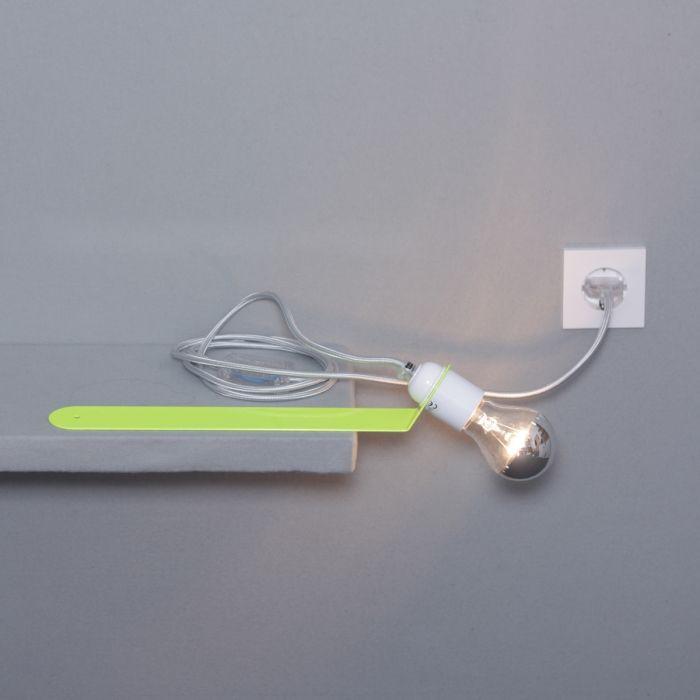 Sliding Shelf Lamp | Neon