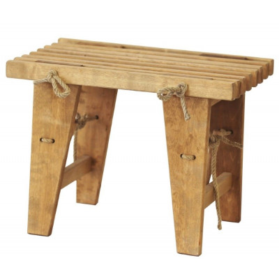Outdoor EcoBench 60 Birch Oiled   Light Wood