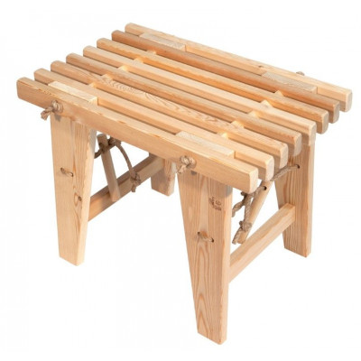 Outdoor EcoBench 60 Larch   Light Wood