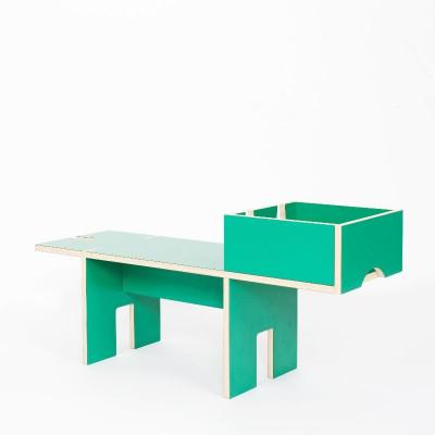 Medium Bobby Bench | Smaragd