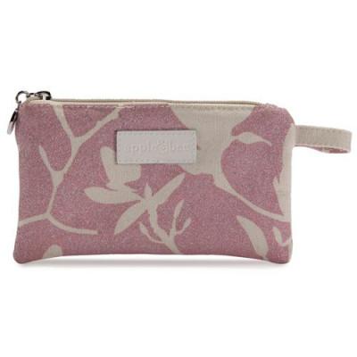 Kleines Make-up-Täschchen Magnolia Shimmer Pink