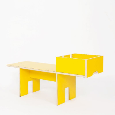 Bobby Bench Medium | Gelb