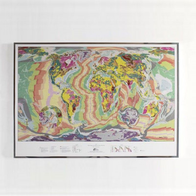 World Geological Wall Map | Small