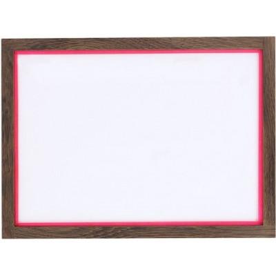 RAM'N Frame | Smoked Oak Pink Acryl