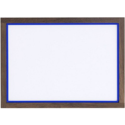 RAM'N Frame | Smoked Oak Royal Blue Acryl