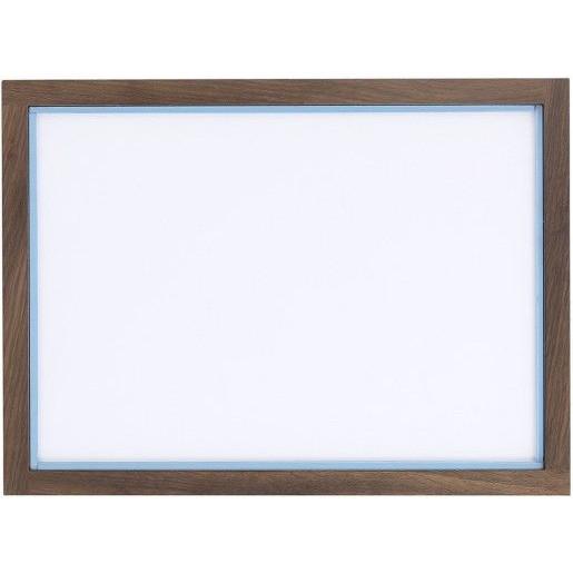 RAM'N Frame   Smoked Oak Light Blue Acryl