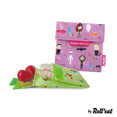 Wiederverwendbare Snack-Tasche Snack'n'Go Duo Kids Fantasy | Lila
