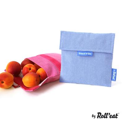 Mehrweg-Snackbeutel Snack'n'Go Eco | Blau