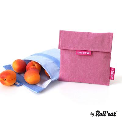Mehrweg-Snackbeutel Snack'n'Go Eco | Violett