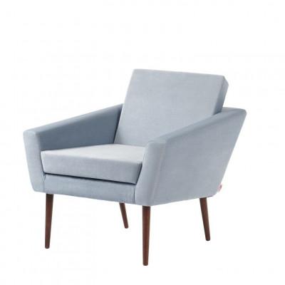 Supernova© Chair Velvet Line | Ice Grey