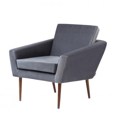 Supernova© Chair Velvet Line | Grey