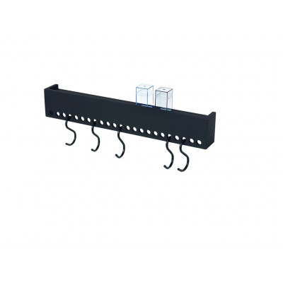 So-Hooked Wall Rack 60 | Rubber Black