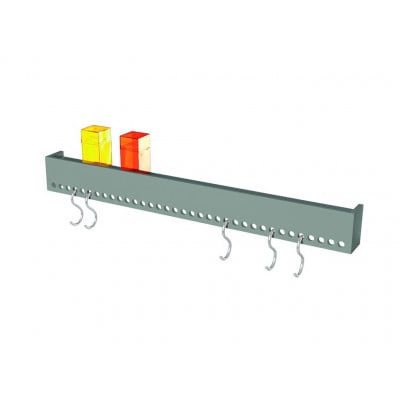 So-Hooked Wall Rack 90 | Rubber Grey