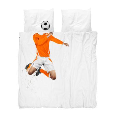 Bettdecke Soccer Champ | Orange