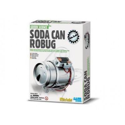 Heimwerkerbedarf Soda-Dosen-Roboter